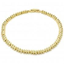 Gold Filled Fancy Anklet Polished Finish Golden Tone