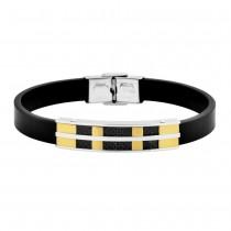 Stainless Steel Two Tone Men's Bracelet