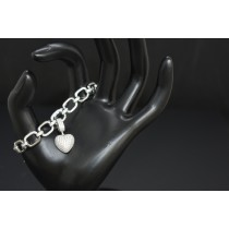 925 Sterling Silver With White Cubic Zirconia Bracelet
