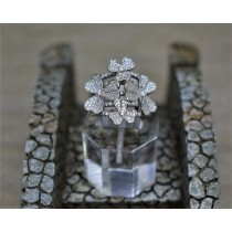 925 Sterling Silver Cubic Zirconia Fashion Ring