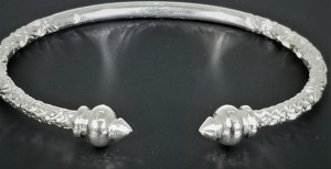 925 Sterling Silver West Indian Bangles